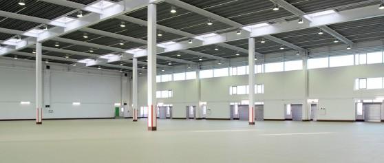 Lager- & Produktionshallen